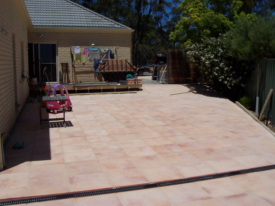 Paving. Dave will do it handyman and maintenance services